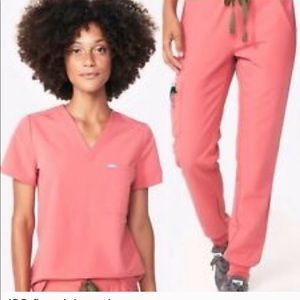ISO 2018 Pink Figs Scrubs
